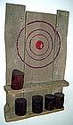 """Alan Kessler """"Good Shot"""" Oil on Wood"""