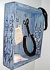 """Alan Kessler """"The Fossil"""" Oil on Wood"""