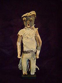 Zuni Owiwi Hunchback Katchina  -- 19th Century