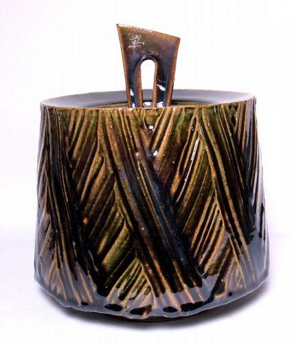 ORIBE STYLE KUSHIME COVERED JAR