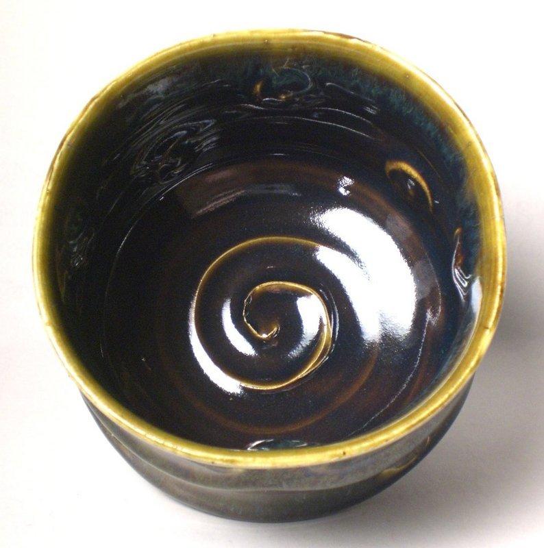Take-sugata Haiyu Impressed Teabowl