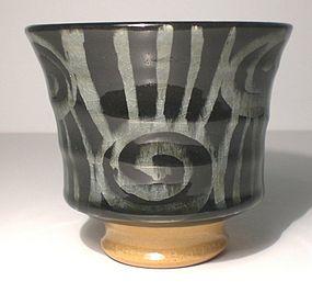 Ao Spirali e Tagli High Walled Teabowl (1102tb)
