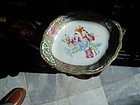 Rose Medallion Relish Plate Porcelain Chinese 1860