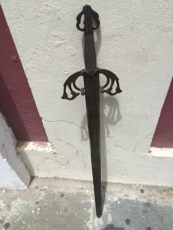 Late 18thc early 19thc Spanish EL CID Sword Hand Forged