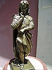 French Bronze 18thc Figure -ca 1860s Lost Wax