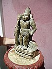 19thc East Indian Carved Stone Deity