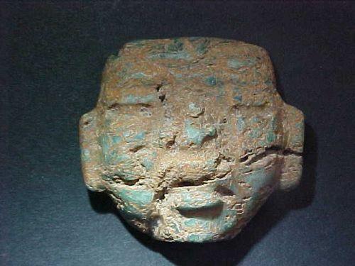 Olmec Jade Maskette 1200BC-600BC