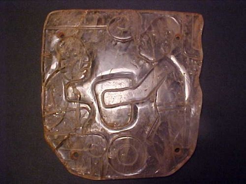 Olmec Museum Quality Masterpiece Quartz Plaque Unique COA w/vid