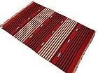 Large Vintage Native American Chimayo Wool Blanket