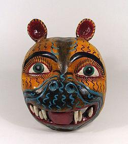 Mexican Folk Art Festival Jaguar Mask