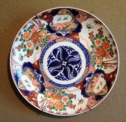 Fine Japanese Imari Charger, 19th C., Meiji