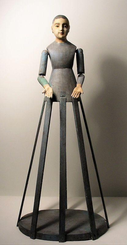 Tall, Elegant Santos Cage Doll
