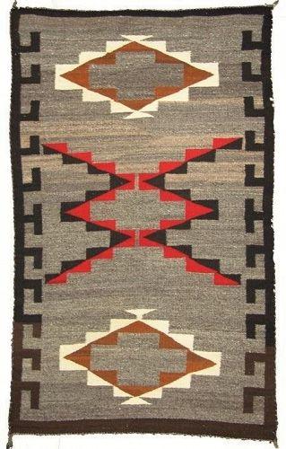 Antique Navajo Ganado Rug