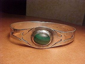 RARE HANDMADE CHICAGO ART SILVER SHOP BRACELET