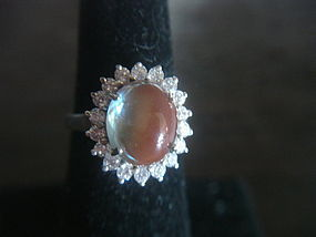 Bohemian SAPHIRET Ring Sterling Silver