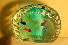 Barbini Murano glass aquarium paperweight C:1960