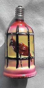 Bird In Cage Christmas Light