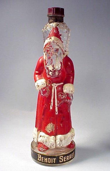 French Santa Claus Liquor Decanter