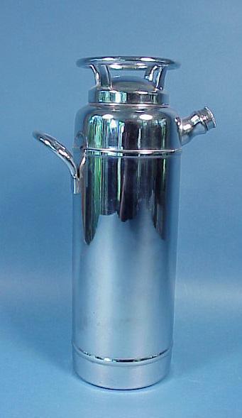 Rare Type Fire Extinquisher Cocktail Shaker
