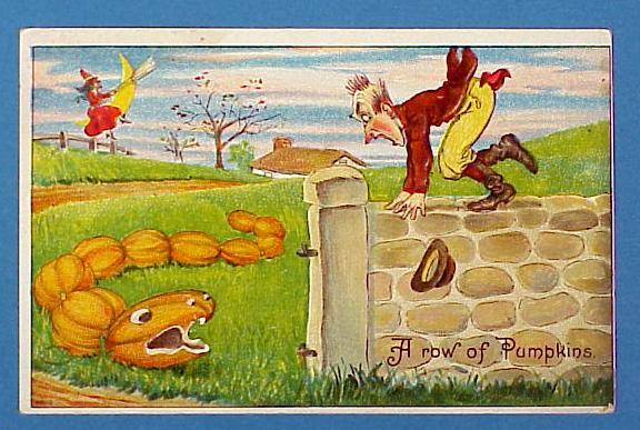 1909 Julius Bien Comic Halloween Post Card