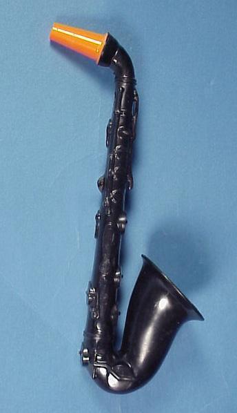 Halloween Hard Plastic Saxophone Noisemaker