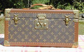 Louis Vuitton Train Case w/Mirror - Never Used