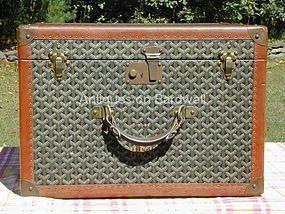 Goyard Hat Box/Linen Case