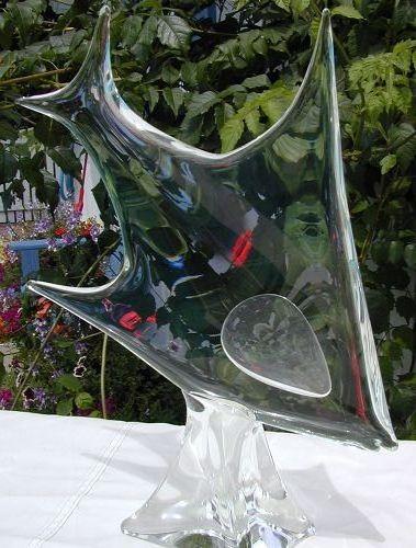 Zanetti Murano Angelfish sculpture