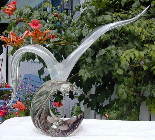 Monumental Seagull Sculpture by Licio Zanetti