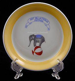 Hermes Paris Ring/Trinket Dish Circus Pattern