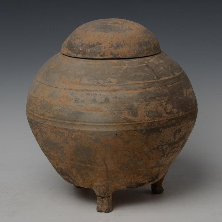Han Dynasty, Chinese Pottery Globular