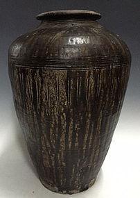 12th C., Angkor Vat, Large Khmer Pottery Jar