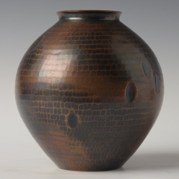 Early 20th Century, Showa, Japanese Bronze Vase