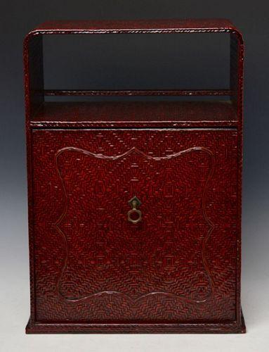 19th Century, Edo, Japanese Wooden Cabinet