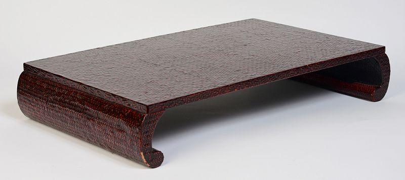 Early 20th Century, Showa, Japanese Wooden Tray