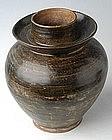 Sukhothai period, Nan Brown Glazed Jar