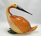Oscar Zanetti Bird Murano Art Glass Master