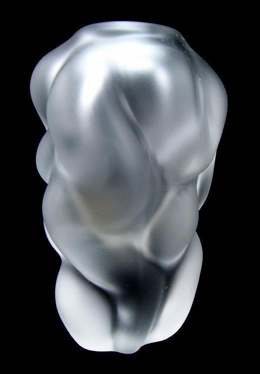 Orrefors Per Sundberg Organic Form Art Glass Vase