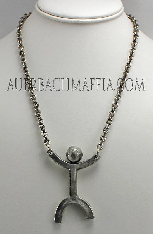 Anders Andersen Modernist Figural Necklace - Denmark