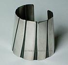Rebajes Modernist Sterling Deco Bracelet