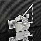 Richard Meier Sterling Post Modernist Pin Acme Studios