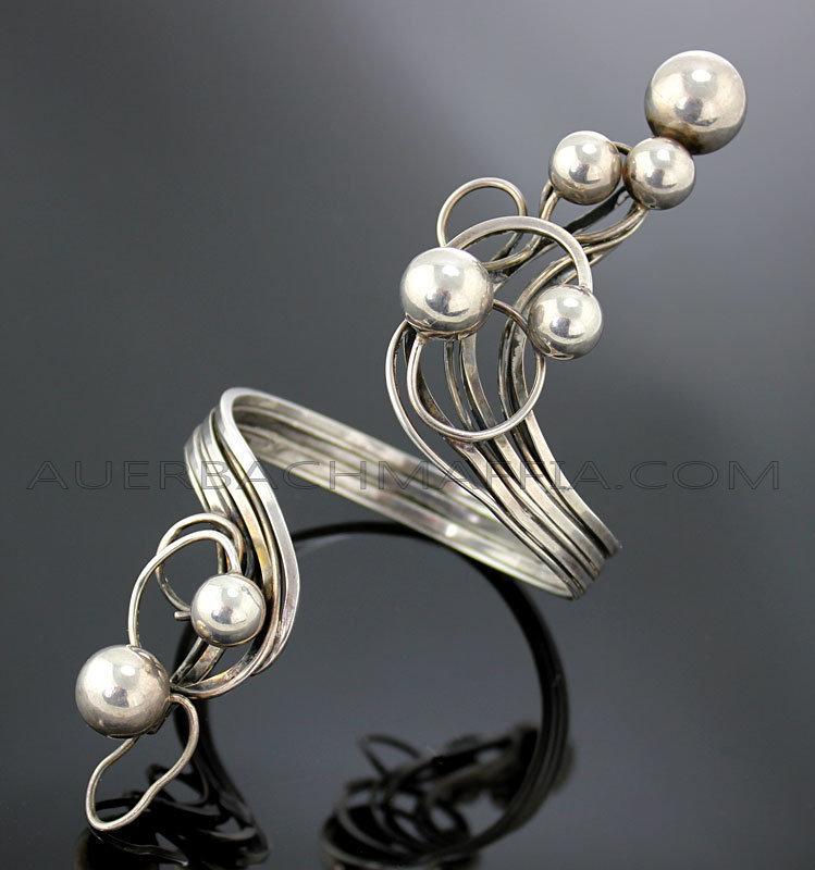 Rachel Gera Modernist Artisan Bracelet - Israel