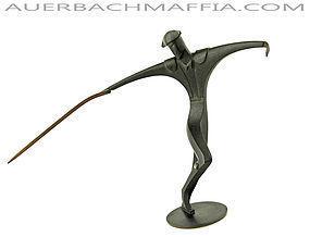 Hagenauer Bronze Matador Figurine Wien Austria