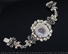 Pentti Sarpaneva Modernist Bracelet 830 Silver Finland