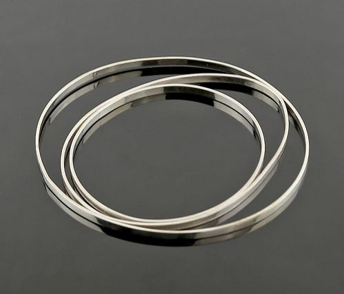 Betty Cooke Modernist Sterling Orbital Bracelet