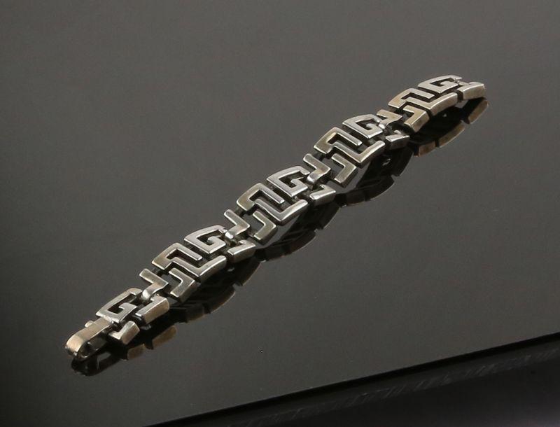Ottaviani Modernist Sterling Bracelet Italy Mod 20th Century