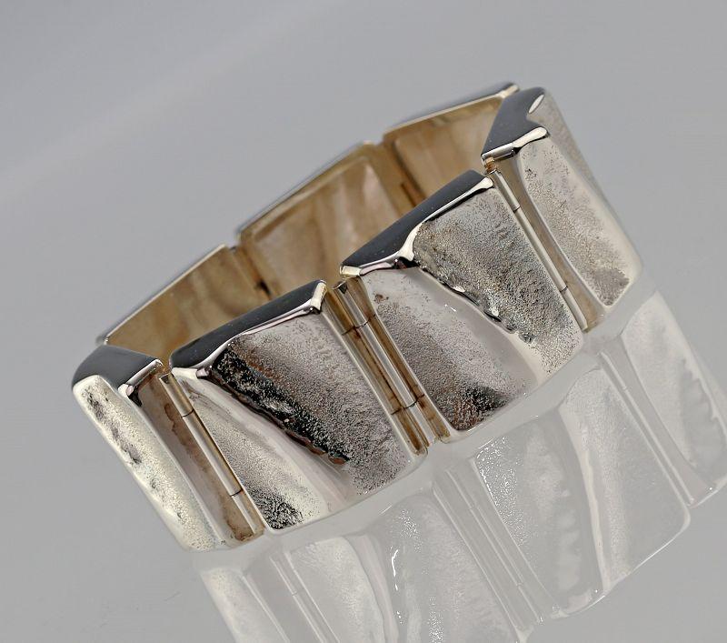 Henning Ulrichsen Modernist Sterling Bracelet Denmark