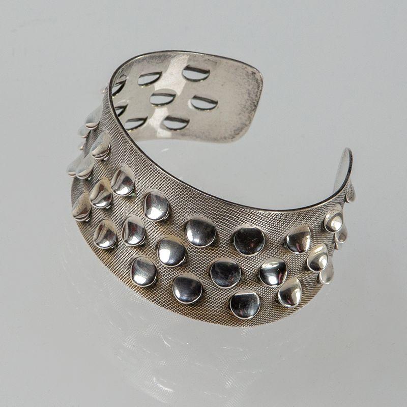 Grete Prytz Kittelsen Tostrup Modernist Sterling Bracelet Norway