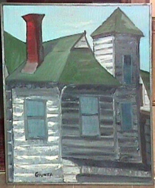 Joseph Giunta Canada Modernist Oil on Canvas