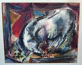 Frederick Gill - Modernist Watercolor - Philadelphia